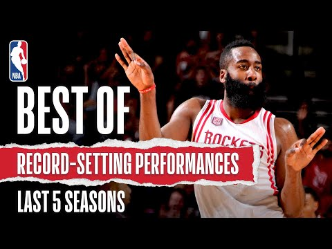 Best Of Record-Setting Performances | Last 5 Seasons