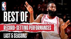 Best Of Record-Setting Performances   Last 5 Seasons