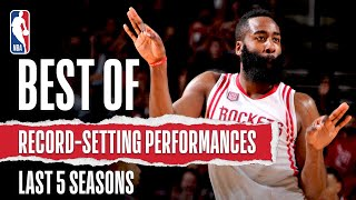 Best Of Record-Setting Performances | Last 5 Seasons