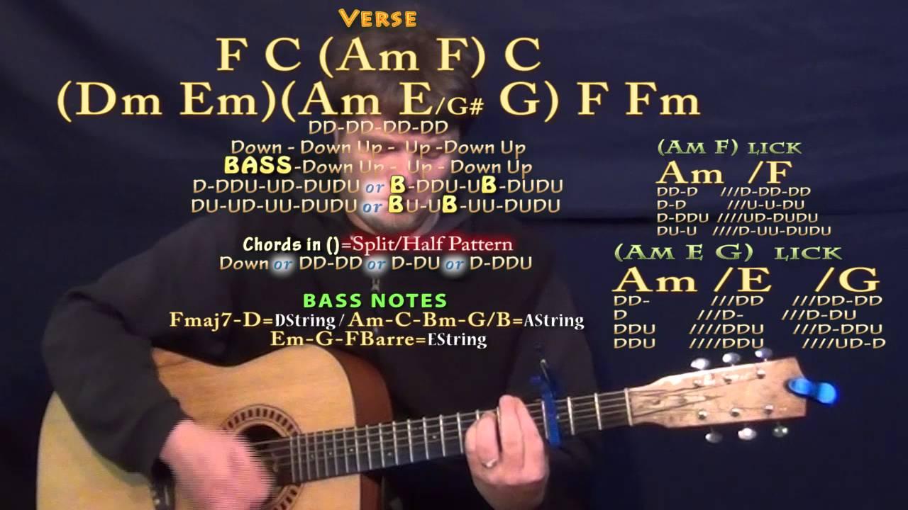 Im A Pretty Girl Pewdiepie Song Guitar Lesson Chord Chart Capo