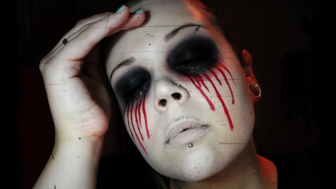 BLOODY MARY - Makeup Tutorial Halloween 2013 - YouTube