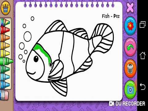 Belajar Mewarnai Ikan Nemo Youtube
