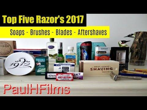 Top 5 Razor's for 2017 + More