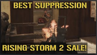 The BEST SUPPRESSION Mechanics for $10! chrono.gg/karmakut - Rising Storm 2 Gameplay
