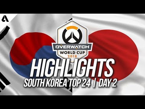 South Korea Vs Japan | Overwatch World Cup 2018 Incheon Qualifier Day 2 thumbnail
