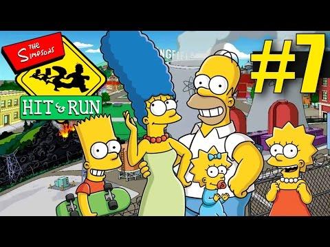 The Simpsons Hit and Run Walkthrough - Part 7 - Lisa's Level! Coastal and Rural Springfield