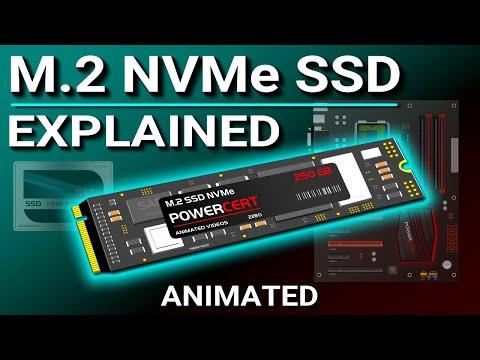 Смотреть M.2 NVMe SSD Explained - M.2 vs SSD онлайн