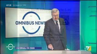 Omnibus News (Puntata 24/12/2016)