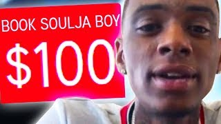 I PAID SOULJA BOY $100 TO SAY THIS...