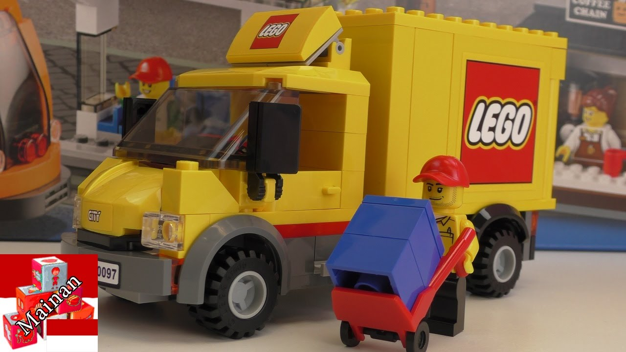Lego Mobil Playmobil City Center 60097 Youtube