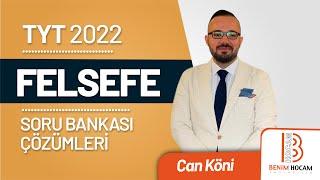 35) Can KÖNİ - Bilgi Felsefesi - Test II (TYT-Felsefe) 2021