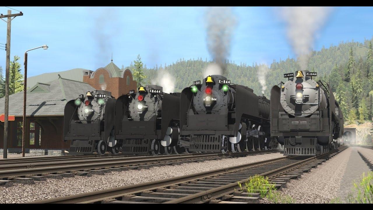 Trainz routes usa