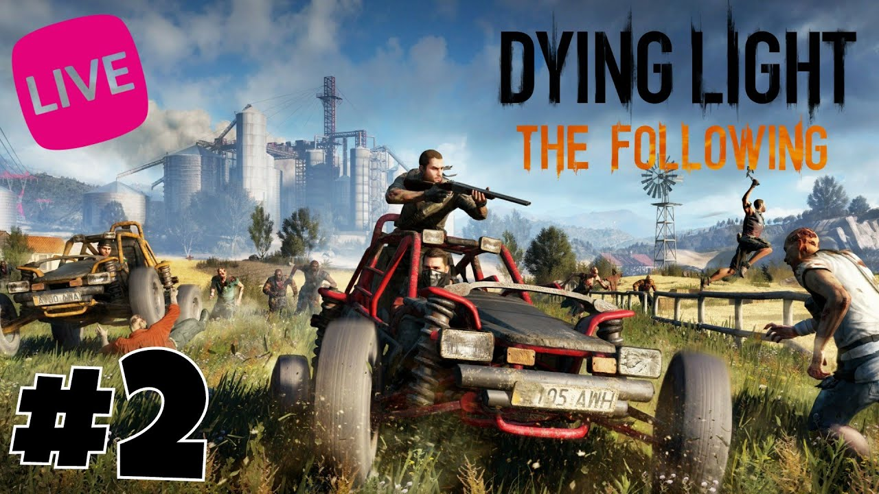 Live Dying Light The Following 2 PS4