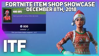 Fortnite Item Shop CHRISTMAS SKINS ARE HERE! [December 8th, 2018] (Fortnite Battle Royale)