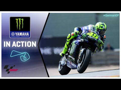 Yamaha in action: 2019 #GermanGP