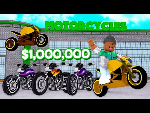MAKING A $1,000,000 MOTORCYCLE DEALERSHIP IN ROBLOX