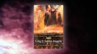 Official CITY OF FALLEN ANGELS book trailer