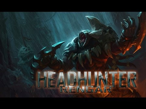 League Of Legends Headhunter Rengar HQ Skin Spotlight