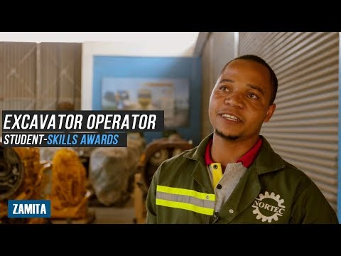 INTERVIEW WITH EXCAVATOR OPERATOR STUDENT - SKILLS AWARDS