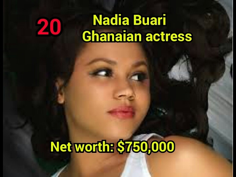 Top 20 richest africa nollywood actress and their net worth