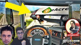 Yuh Bu Nasıl Takla? | Euro Truck Simulator 2 Türkçe Multiplayer