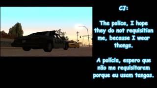¿Descubrirán a CJ? (Parodia P1) / GTA San Andreas