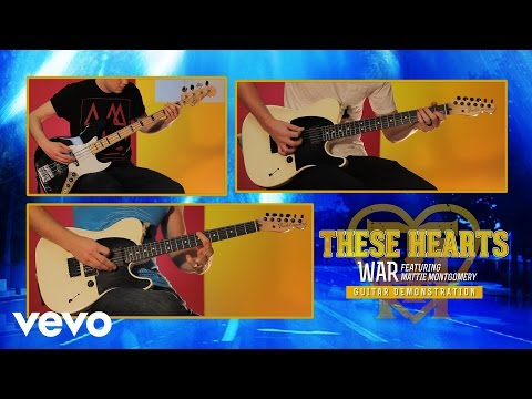 "These Hearts - ""War"" Guitar Demonstration"