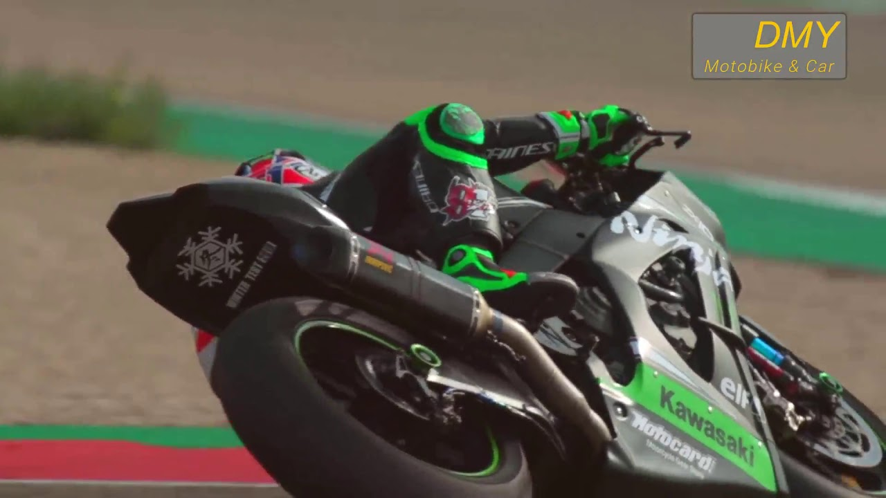 kawasaki sbk winter test 2019 in aragon spain youtube. Black Bedroom Furniture Sets. Home Design Ideas
