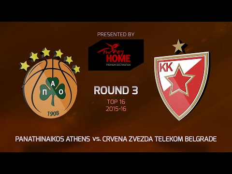 Highlights: Panathinaikos Athens-Crvena Zvezda Telekom Belgrade