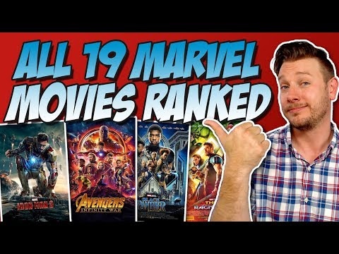 All 19 MCU Movies Ranked Worst to Best (w/ Avengers: Infinity War)