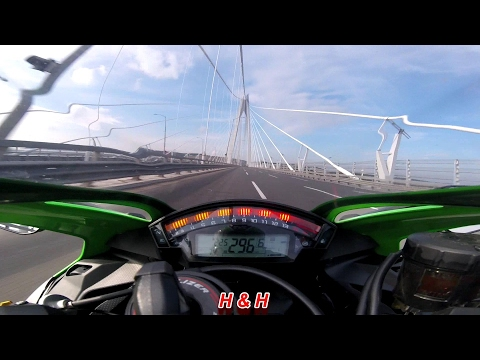Kawasaki Ninja ZX10R - Top speed