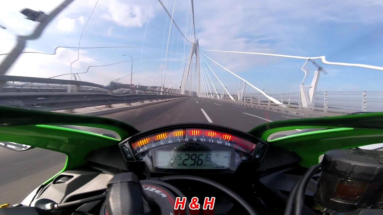 kawasaki ninja zx10r - top speed - youtube