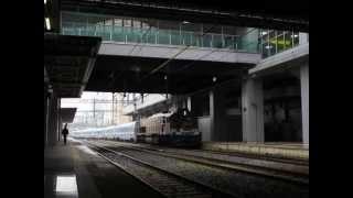 S-TRAIN홈에 들어갑니다 부산역 / 釜山駅入線