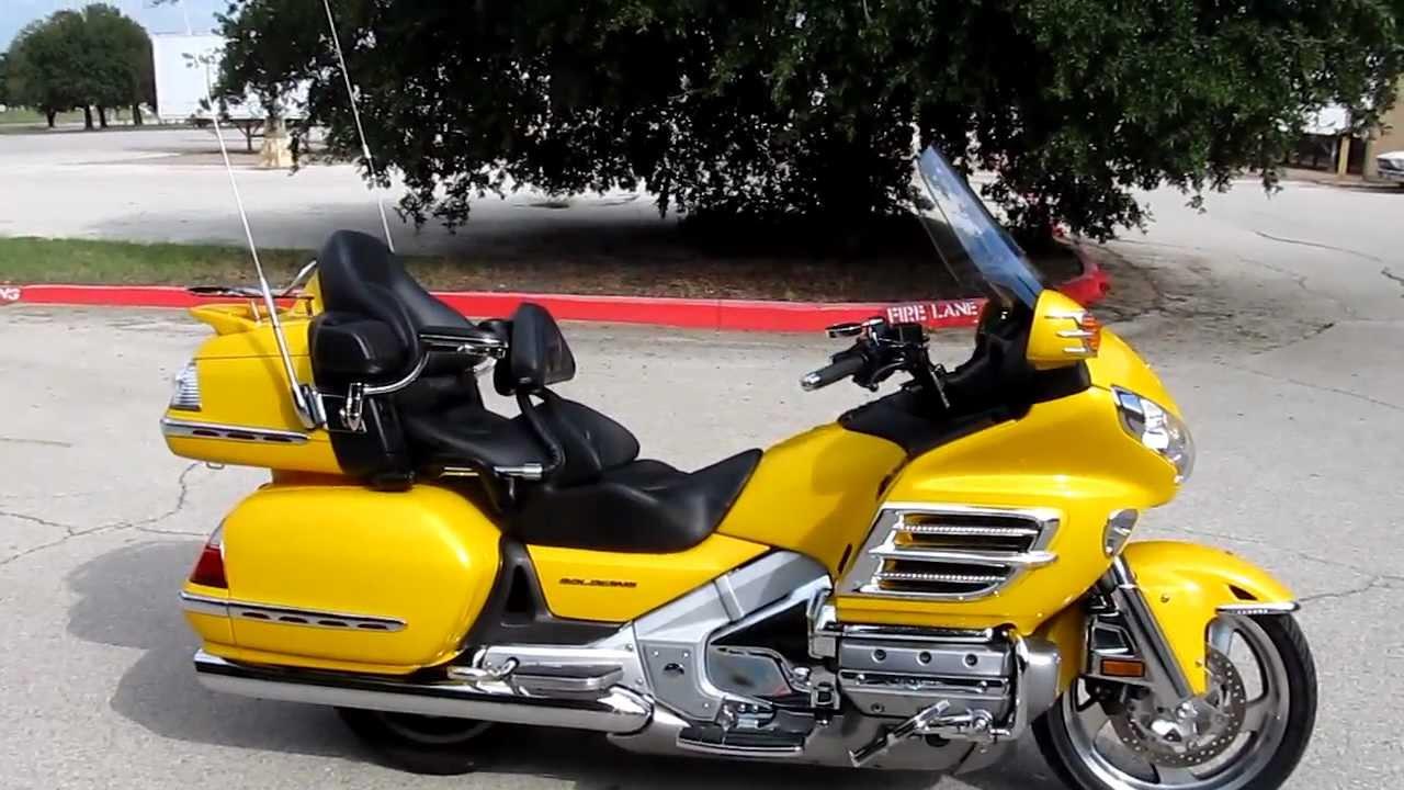 2010 Honda GL1800 Goldwing For Sale - YouTube