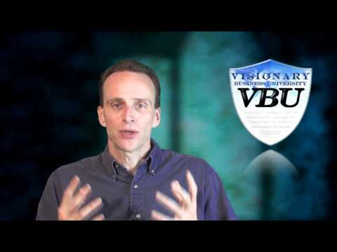 Bob Doyle talking about Visionary Business University