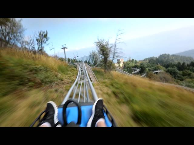Natural rollercoaster above Lake Maggiore.