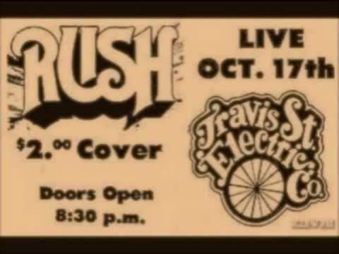 Rare Early Rush Radio Interview 10//17/1974