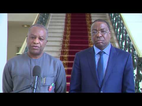 Nigerian Foreign Affairs Minister Onyeama Visits President Sall of Senegal: Friday 30 December 2016