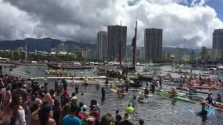 Hokule'a returns to Hawaii