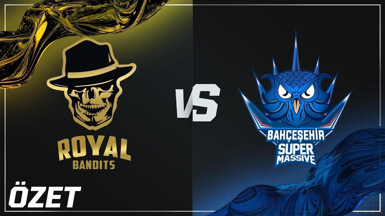 Royal Bandits ( RB ) vs SuperMassive ( SUP ) 4. Maç Özeti Videosu