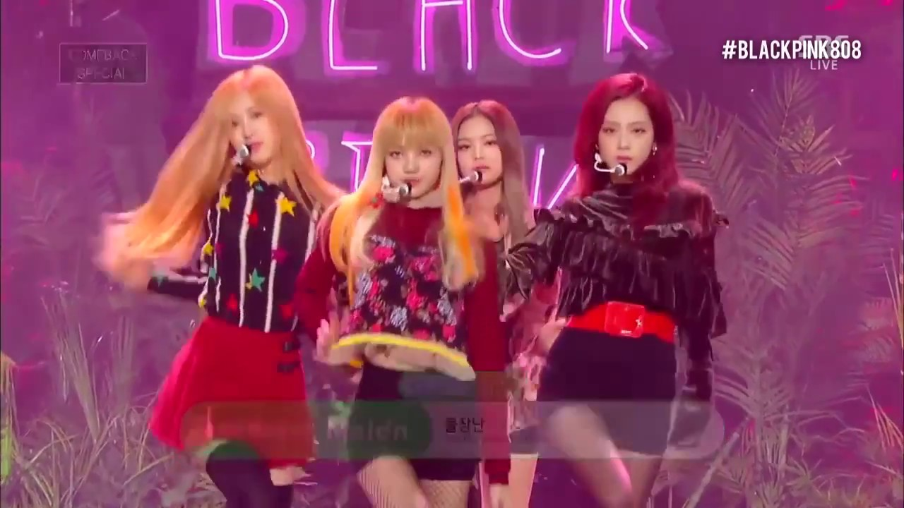 Blackpink playing with fire live performance mix youtube