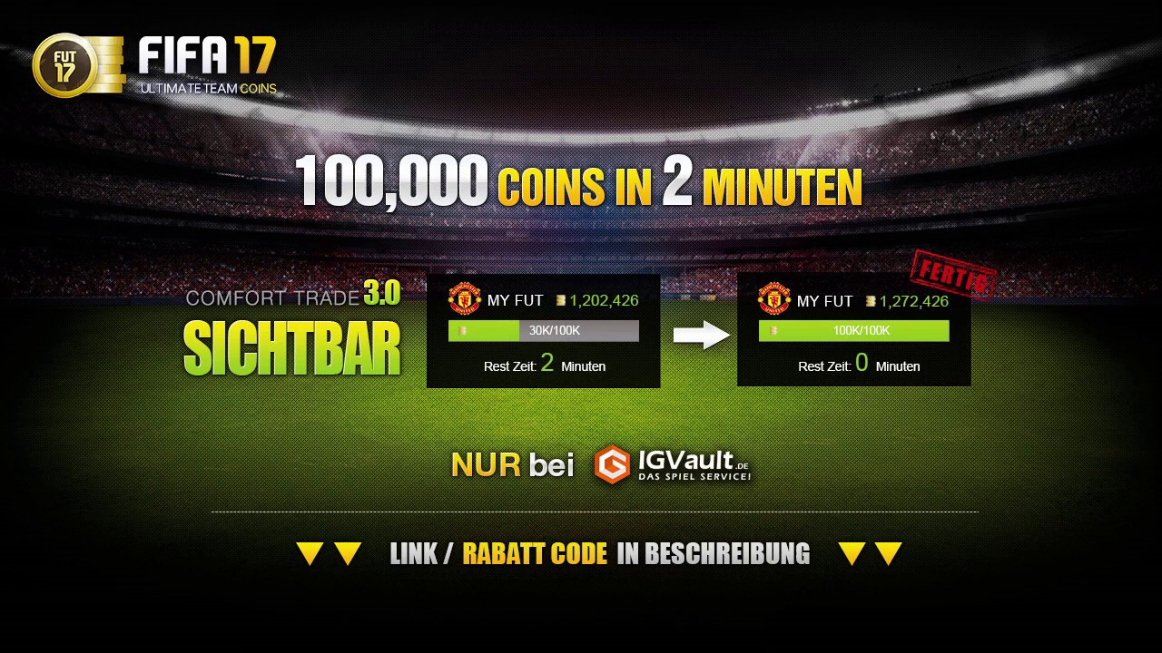 Coins In 2 Minuten Wie Funktioniert Igvault Fifa 17 Tutorial