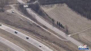 rtv6 helicopter footage of delphi in search for libby abby