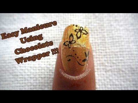 Chocolate wrapper for NAILART? from YouTube · Duration:  1 minutes 58 seconds