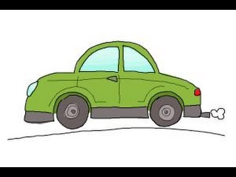 How to draw cars for kids