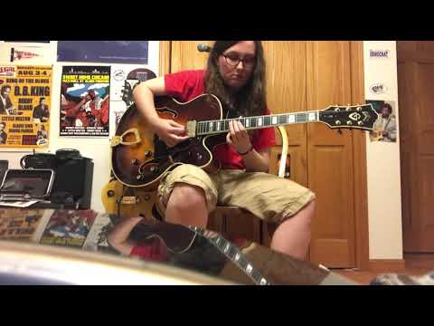 """Nat Adderley's """"The Old Nation"""" Jam by Alicia Marie on Guitar"""