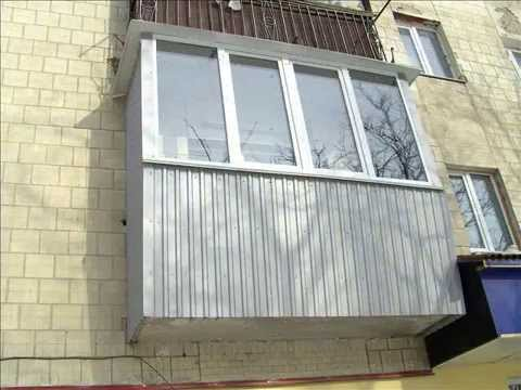 Особливості обшивки балкона профнастилом