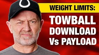 Towing basics: Is towball download always part of the vehicle's payload?   Auto Expert John Cadogan