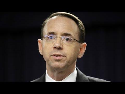Rod Rosenstein, Face Of Russia Probe, To Step Down As Deputy Attorney General