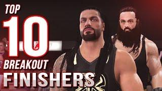 WWE 2K16 Top 10 Breakouts - Countdown to WWE 2K17!